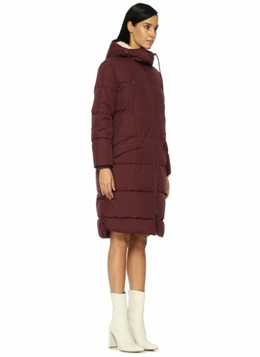 Parka London Palto Bordo